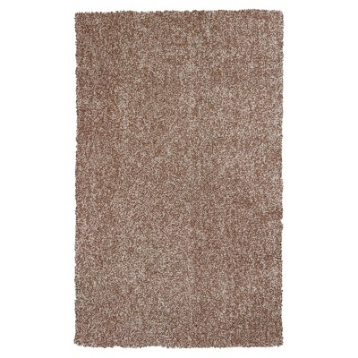 """Beige Solid Woven Area Rug 27""""x45"""" - KAS Rugs"""