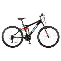 """Mongoose® Men's Standoff 26"""" Mountain Bike - Black/Red"""