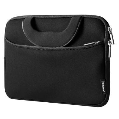 "INSTEN Universal Stylish Protective 10"" Laptop/Tablet Sleeve Case, Black"