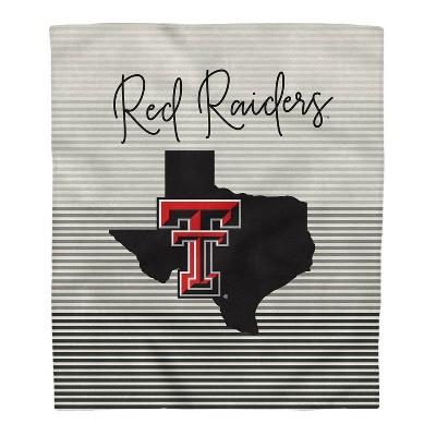 NCAA Texas Tech Red Raiders Ultra Fleece State Stripe Blanket