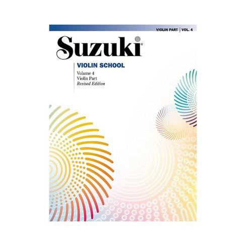 Alfred Suzuki Violin School Violin Part Volume 4 - image 1 of 1