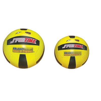 Sportime Soft Econ-O-Trainer II Volleyball, Regulation Size, Yellow/Black