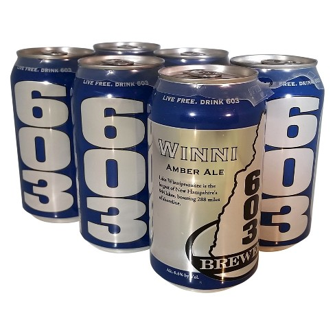 603 Winni Amber Ale Beer - 6pk/12 fl oz Cans - image 1 of 1