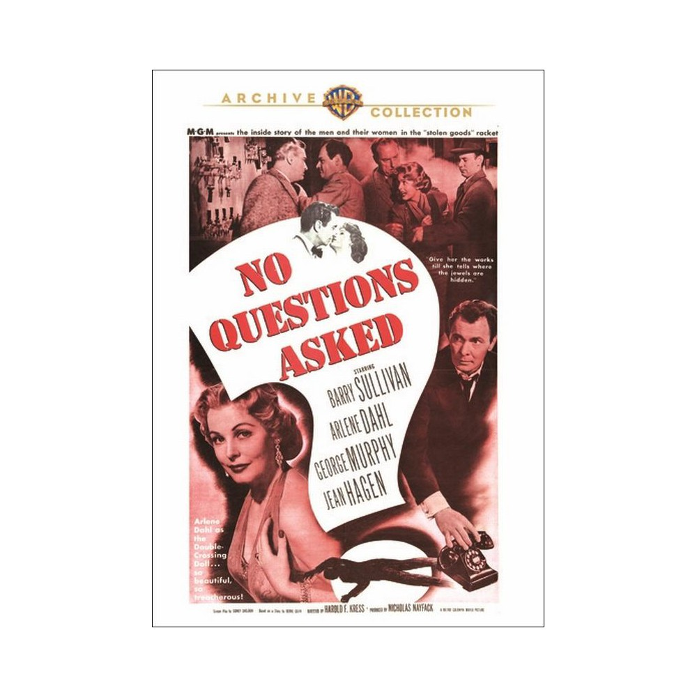 No Questions Asked (Dvd), Movies