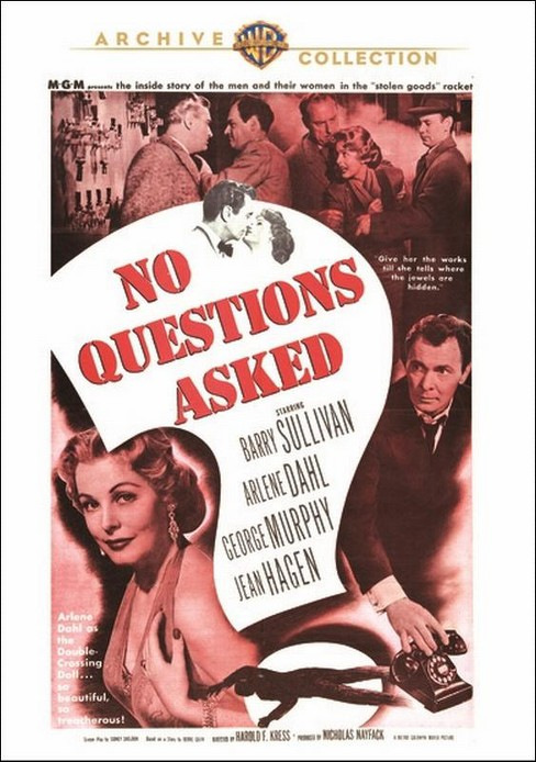 No questions asked (DVD) - image 1 of 1