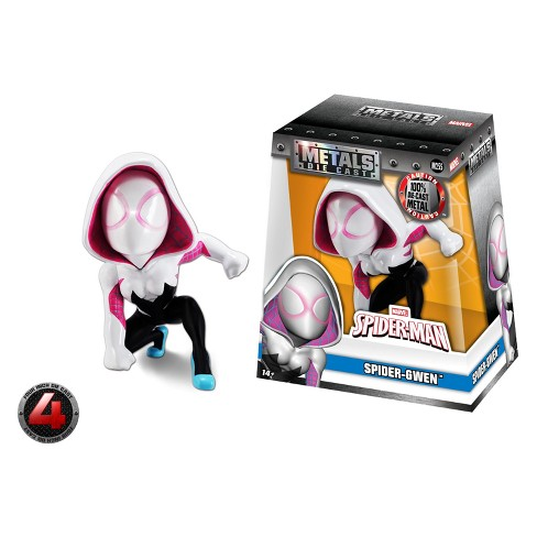 "METALS Marvel 4"" Figure - Spider Gwen - image 1 of 5"