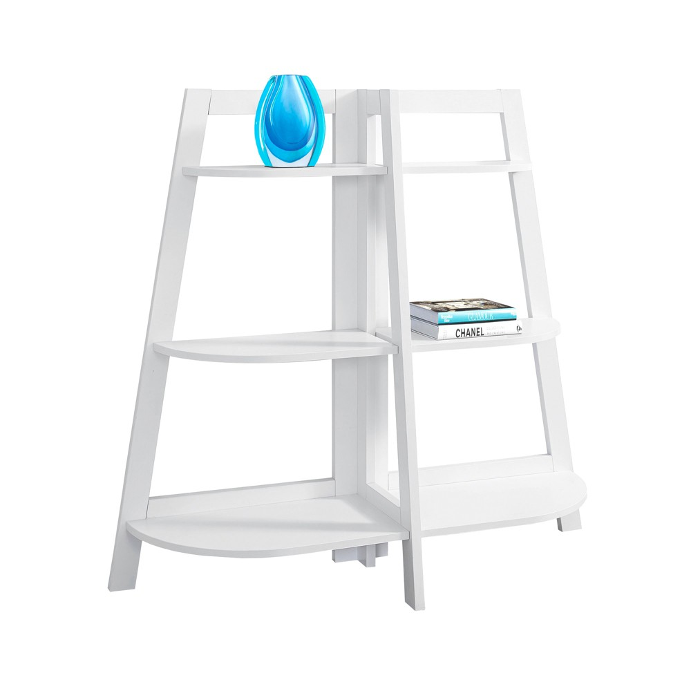 47 Bookcase Accent Etagere White - EveryRoom