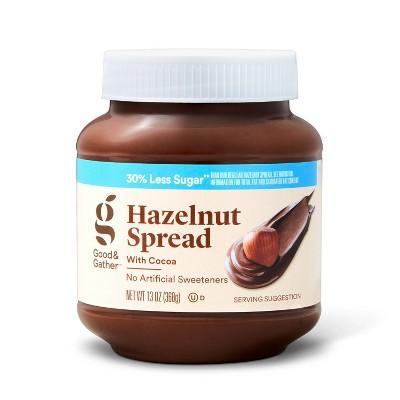 Reduced Sugar Hazelnut Spread - 13oz - Good & Gather™