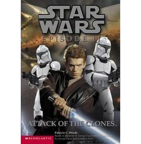 Star Wars Episode II Attack of the Clones : Attack of the Clones (Reissue) (Paperback) (Patricia C. - image 1 of 1