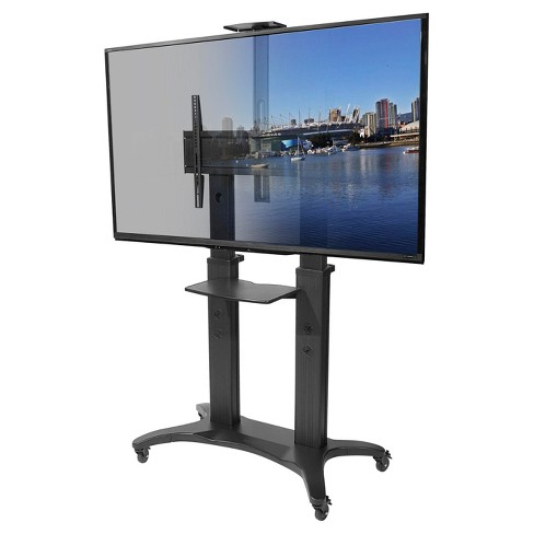 Kanto Mobile Tv Stand For 55 Quot 80 Quot Flat Screen Display