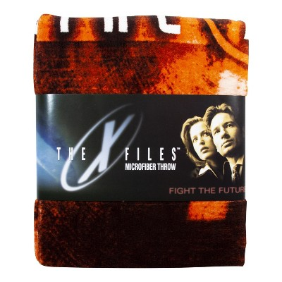 "Se7en20 X-Files Logo 50"" x 60"" Lightweight Fleece Blanket"
