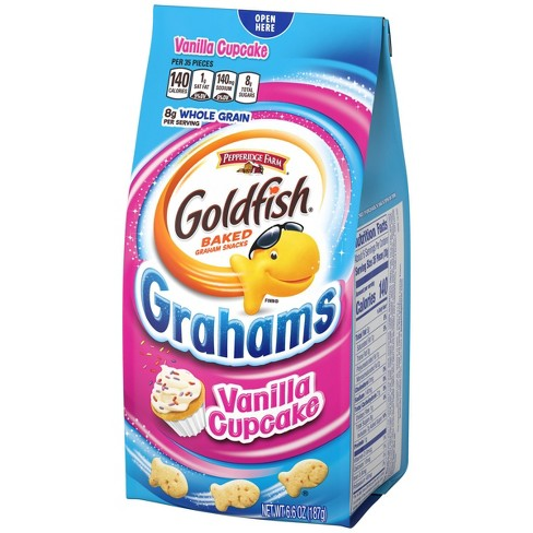 Pepperidge Farm Goldfish Vanilla Cupcake Grahams Snacks - 6.6oz - image 1 of 4