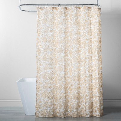 Floral Shower Curtain Yellow - Threshold™