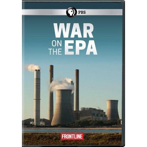 Frontline: War on the EPA (DVD) - image 1 of 1