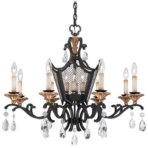 Metropolitan N7112 4 Light 1 Tier Cage Candle Style Chandelier from the Cortona Collection - image 1 of 1