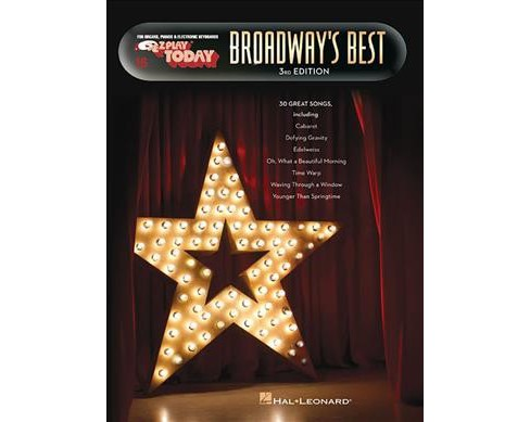 Broadway's Best -  (E-Z Play Today)  Book 16 (Paperback) - image 1 of 1
