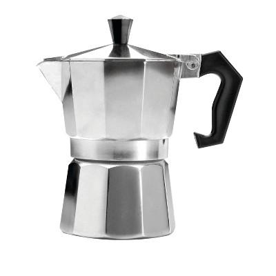 Primula 3-Cup Espresso Maker - Silver