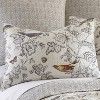 Mockingbird Toile Quilt and Pillow Sham Set - Levtex Home - image 3 of 4