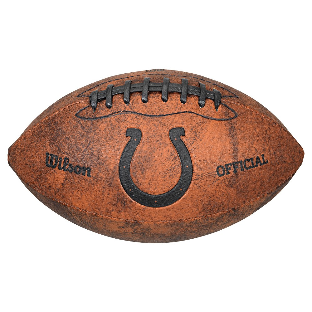 Indianapolis Colts Wilson 9 Inch Throwback Football