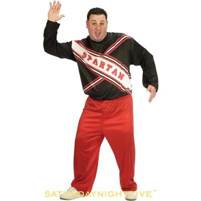 Saturday Night Live Male Spartan Cheerleader Plus Size Costume