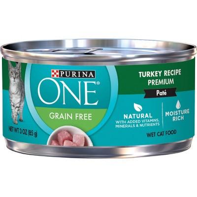 Purina ONE Grain Free Turkey Wet Cat Food - 3oz