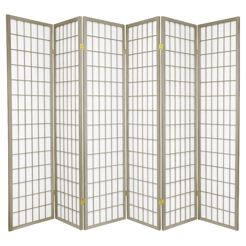 6 ft. Tall Window Pane - Special Edition - Gray (6 Panels)