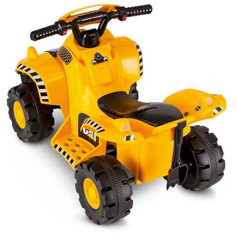 ba22c595703b Kid Trax CAT 6V Quad Ride On   Target