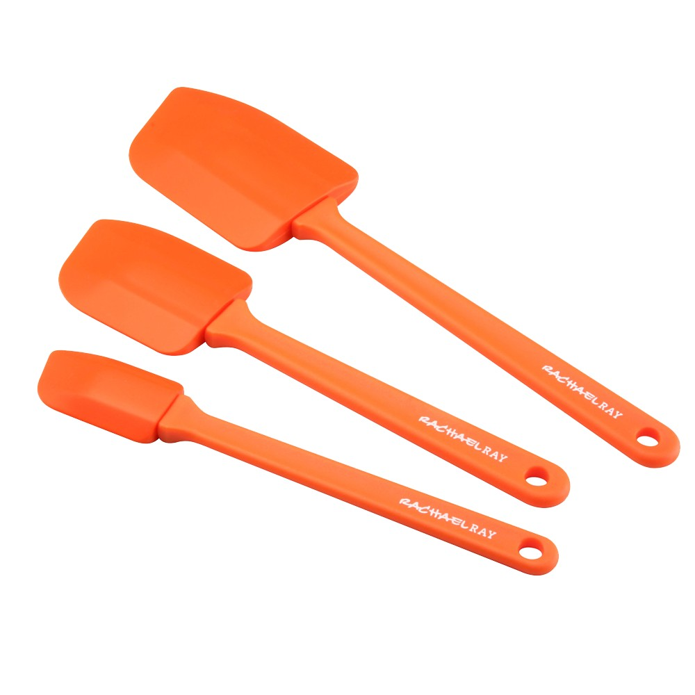 Rachael Ray Spatula Set - 3 piece, Orange
