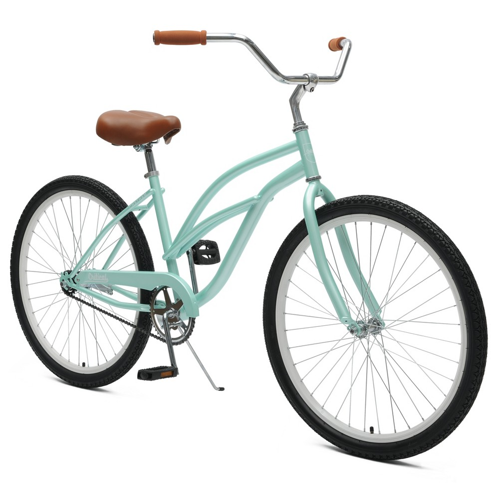 Critical Cycles Ladies Chatham 1-speed Cruiser Bike- 26 - Seafoam, Sea Green