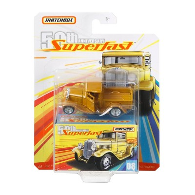 Matchbox Superfast Collector Diecast Assortment (Styles May Vary)