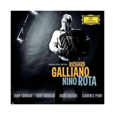 Richard Galliano - Nino Rota (CD) - image 1 of 1