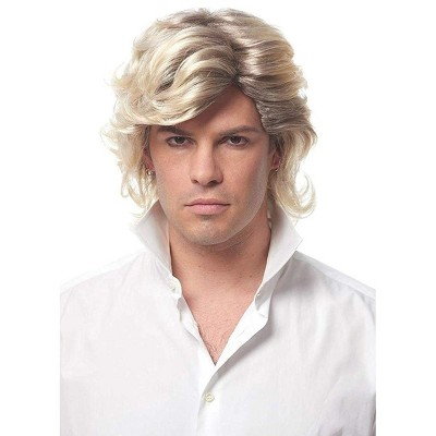 Costume Culture by Franco LLC 80's Icon Men's Costume Wig - Blonde