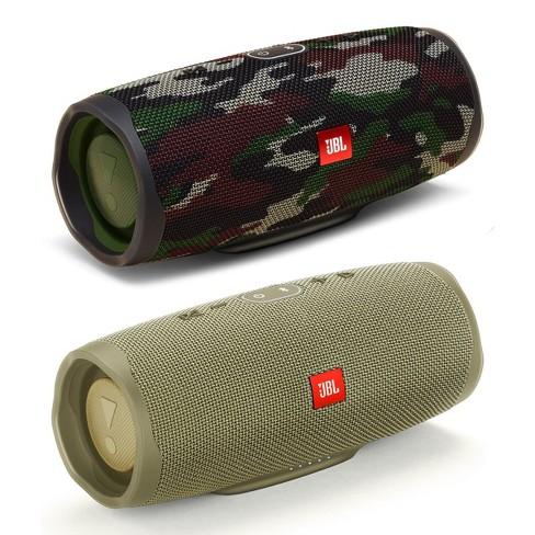 Jbl Charge 4 Waterproof Portable Wireless Bluetooth Speaker Bundle Pair Sand Camo Target