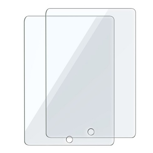 """Insten 2-Pack Ultra-clear Tempered Glass Screen Protector Compatible with Apple iPad 5/6, Air 1/2, Pro 9.7"""" - image 1 of 3"""
