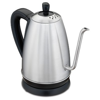 Hamilton Beach Electric Gooseneck Kettle Black 1.2L/2pc 40899