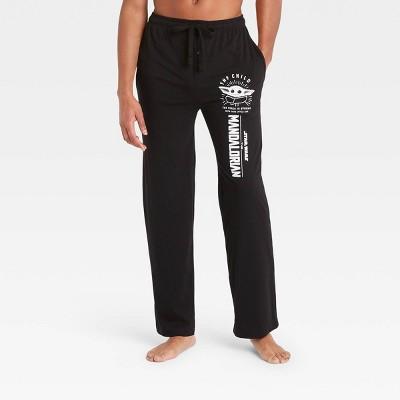Men's Star Wars: The Mandalorian Pajama Pants - Black