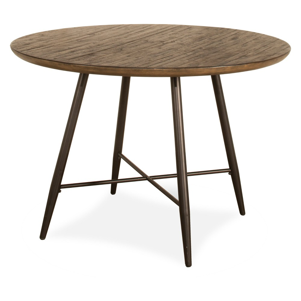 Forest Hill Round Dining Table Wood Brown - Hillsdale Furniture
