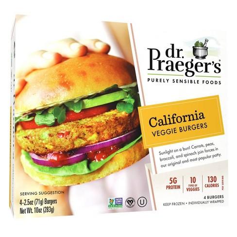 Dr. Praeger's Frozen California Veggie Burger - 10oz - image 1 of 3
