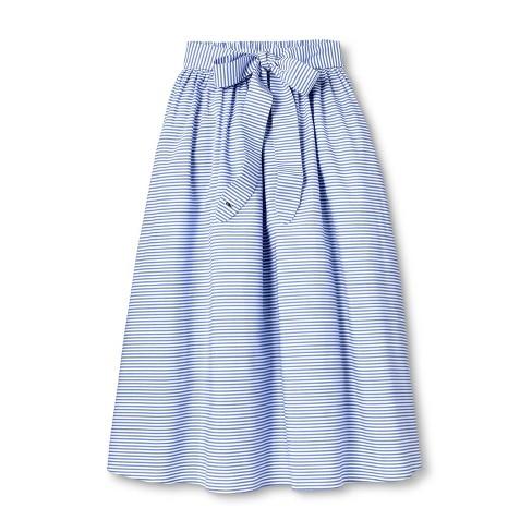 75e8c5f94 Women's Striped Midi Skirt - Navy/White - Vineyard Vines® For Target ...