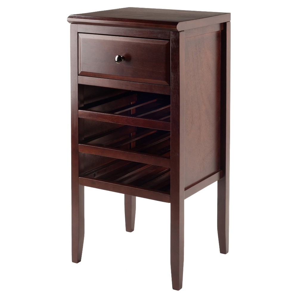 Orleans Modular Buffet with Drawer 12-Bottle Wine Rack Wo...