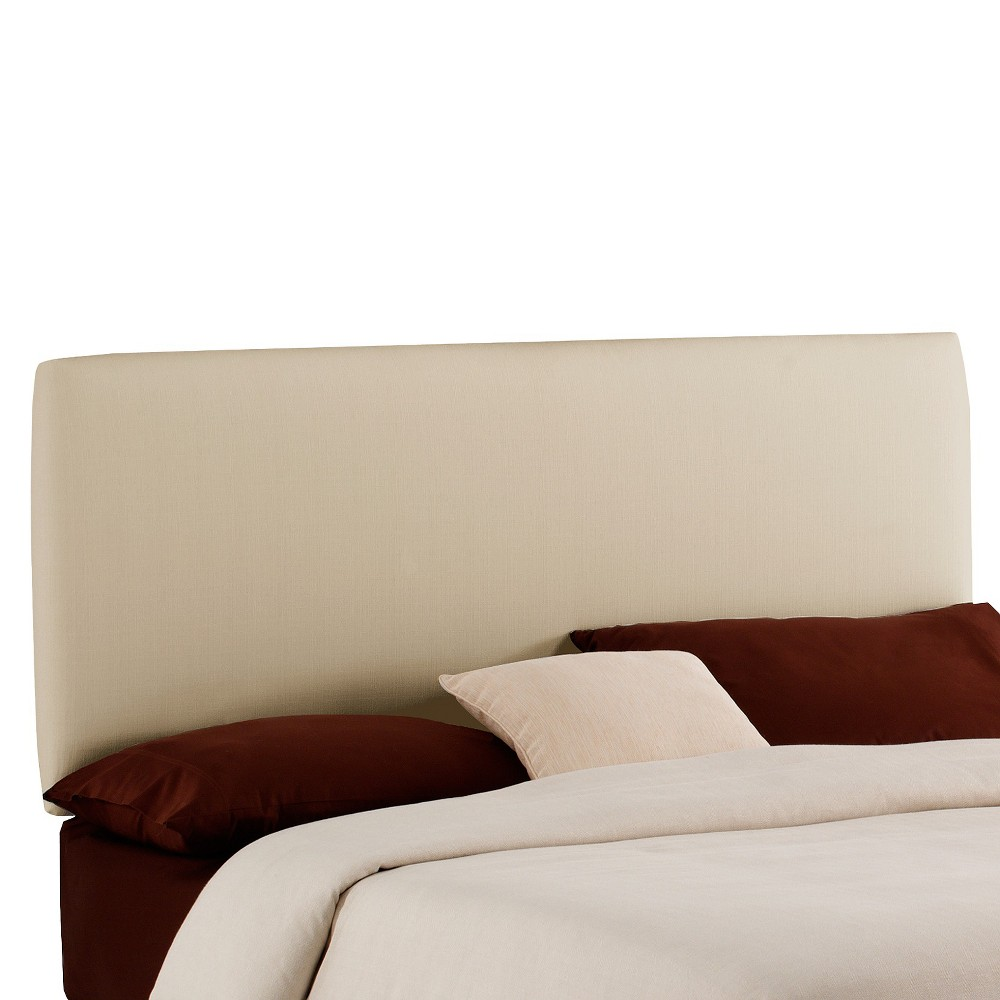 King Upholstered headboard Cream (Ivory) - Project 62