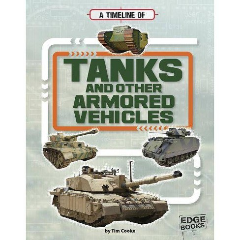 A Timeline of Tanks and Other Armored Vehicles - (Military Technology Timelines) by  Tim Cooke - image 1 of 1