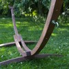 Vivere 10ft Solid Pine Arc Stand FSC Certified - Pine Color - image 4 of 4