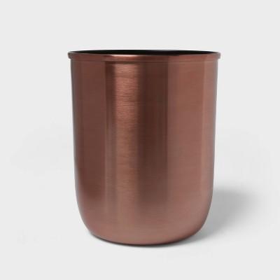 Solid Bathroom Wastebasket Rose Gold - Project 62™