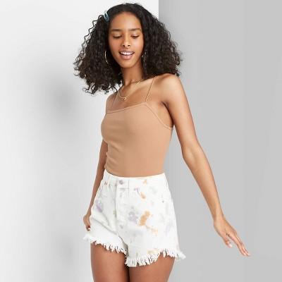 Women's Spaghetti Strap Bodysuit - Wild Fable™