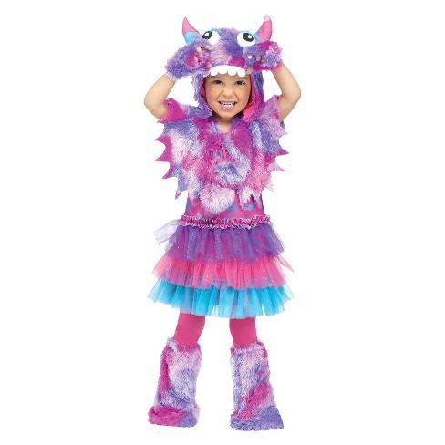 Baby/Toddler Polka Dot Monster Costume - image 1 of 1