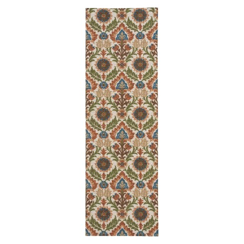 "Waverly Block Print Runner - Pear (2'6""x8') - image 1 of 1"