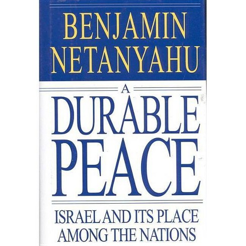 A Durable Peace - by  Benjamin Netanyahu (Hardcover) - image 1 of 1