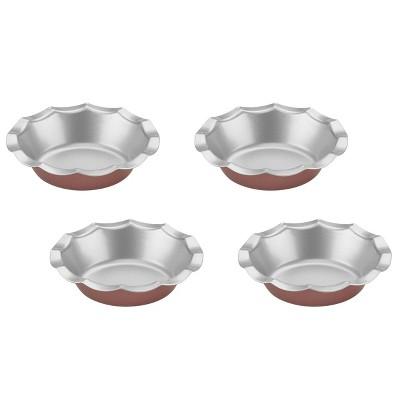 Cuisinart 4pc Bronze Color Mini Fluted Tartlet Pan Set - CMBM-4FLTBZ