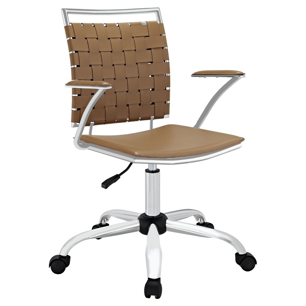 Image of Office Chair Modway Basic Tan